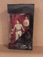NEW Disney Exclusive Hasbro Star Wars Black Series Rey (Jakku) & BB-8 Figure