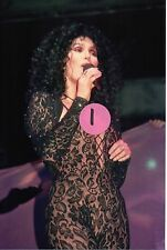 Cher 8 - 4X6 Color Concert Photo Set #1A