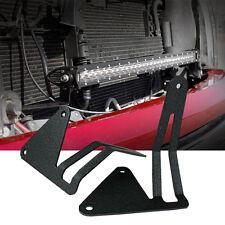 "30"" Single Row LED Light Bar Hidden Grille Mounts Bracket 06-15 Chevrolet GMC"