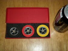 Ferrari Logo Licensed - [#3] Wheels Eraser Set [ Nib ], Vintage