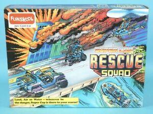 GI JOE Funskool Super Cop Rescue Squad Complete Set AMAZING CONDITION MIB MISB