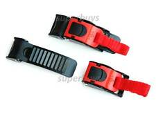 Fast Quick Release Helmet Buckle Clip Cord Chin Strap Bag Motorcycle Bicycle T3