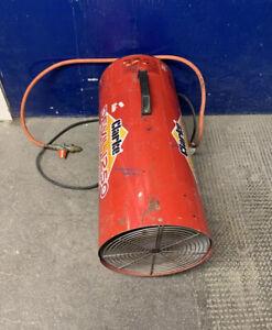 CLARKE SPACE HEATER CLARKE DEVIL 1250 PROPANE