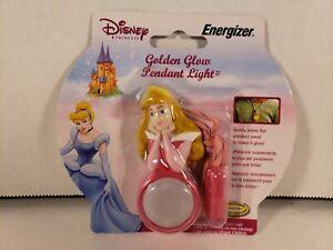 Disney Princess Aurora Golden Glow Pendant Light Energizer  2004