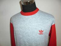 hong kong vintage 80s Adidas sweatshirt pullover oldschool sport sweater S/M D5