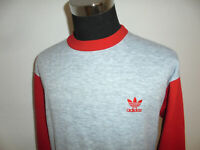 hong kong vintage 80s Adidas sweatshirt pullover oldschool sport sweater 80er D5