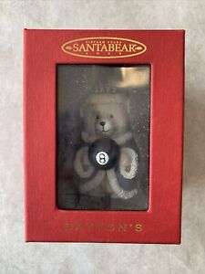Dayton's Department Store Santa Bear Ornament, New In Box, 1999