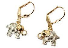 Elephant Dangle Earrings18K Gold Plated - Elephant Earring - Enchape de Oro