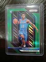Hamidou Diallo 2018 Panini Prizm GREEN Rookie #9 SP OKC Thunder RC **