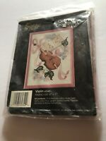 Vintage 1988 Gold Bee Counted Cross Stitch Violin 60340 Kit