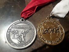 2012 Michigan Open Ibjjf Jiu-Jitsu Championship Medal Trophy