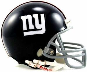 New York Giants 1961-74 61-74 Throwback Riddell VSR4 Mini Helmet New in box