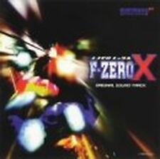 F-ZERO X - Original Soundtrack CD Japan Music Japanese Anime Manga