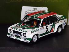 FIAT 131 ABARTH #5 ROERL WINNER ACROPOLIS  1978 TROFEU 1429 1:43