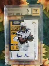 2010 Panini Contenders  Chargers Ladarius Green Rookie Ticket Auto BGS 9 Auto 10