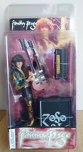 """Rare NECA Jimmy Page 7"""" Figure - Led Zeppelin - Brand New 2006 Boxed Sealed"""
