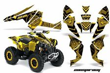 AMR Racing CanAm Renegade500/800/1000 Graphic Kit Wrap Quad Decal ATV All CNSP Y