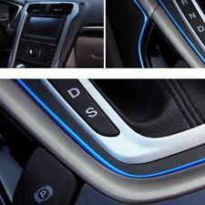 5M Auto Zubehör Auto Universal Interior Dekorative Blauer Chromstreifen Glänzend