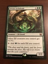 Magic the Gathering ELVISH ARCHDRUID MTG Duel Deck Elves vs Inventors