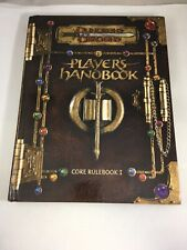 Advanced Dungeons & Dragons Player Handbook Core Rule Book 1 AD&D 1st Prt