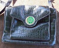 Liz Claiborne Black Leather Handbag