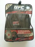 NIB UFC MMA Mixed Martial Arts Sparring Training Red Black Punch Mitts Gloves
