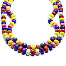 Vintage Rainbow Turquoise Necklace Handmade Gemstone Jewellery Tantric Tokyo