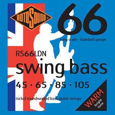 Rotosound RS66LDN Swing Bass Nickel Standard Gauge Electric Bass Strings