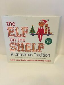 The Elf on the Shelf  A Christmas Tradition with Book Some Defects Check Photos