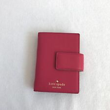 Kate Spade  Debra Pink Leather Planner / Personal Agenda - Snap closure