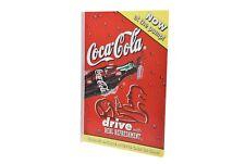 "Coca Cola 1998 Vending Machine Advertisement Sign 12"" x 18"" - New"