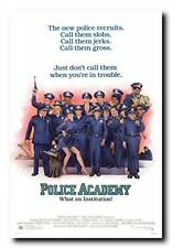 Police Academy Movie Poster 24x36 Inch Wall Art Portrait Print - Ready to Hang