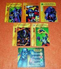 OVERPOWER Maggot SET hero Classic 4 sp 1 Marvels Slugfest Intestinal Fortitude