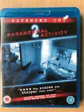 Paranormal Activity 2 Blu-ray 2010 Supernatural Horror Movie Extended Version