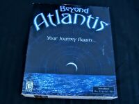 Beyond Atlantis: Your Journey Awaits PC Game Year 2000 Big Box Made in Canada