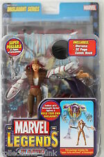 Marvel Legends 13 Onslaught Series Lady Deathstrike with Comic Book