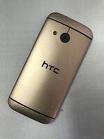 Original HTC One Mini 2 Akkudeckel Akku Deckel Backcover M8 Mini Gold
