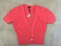 Matalan Papaya shrug cardigan knitted Size 8