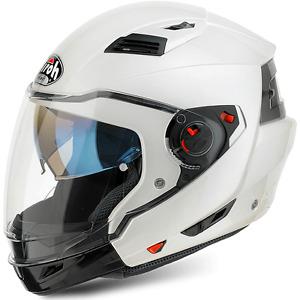 EX14    CASCO Airoh/ HELMET Casco crossover Executive WHITE Taglia L - Size L
