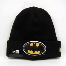 New Era Men's DC Comics Batman Essential Cuff Knit Beanie Hat - One Size