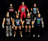 WWE Bundle Of 5 Custom Shirts for WWE Mattel Figures. Any Design. Any Colour.