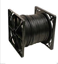 RG-59/U Siamese cable, Professional Grade, 500FT Black