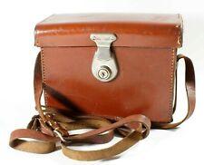 Paillard Bolex Vintage Leather Case For 8mm Movie Cameras B8 C8 D8 + Accessories