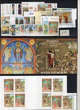 Vaticano 2017 annata completa 30 v. + 2 BF + 1 Libretto nuovo MNH**