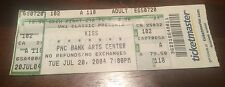 Kiss Rock The Nation Tour Ticket July 20th 2004