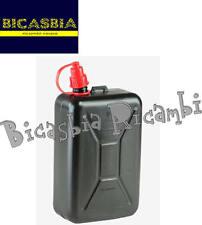 8389 - TANICA LATTINA BENZINA DA 2 LITRI CON TUBO VESPA LML LAMBRETTA PX ET3