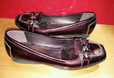 Geox Respira loafers size 6 (36) women good condition dark purple