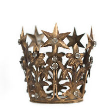 Gold Crown Cake Topper, Vintage Crown, Wedding Cake Top, Rhinestone Crown