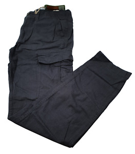 Ex Fat Face Mens Ripstock Cotton  Cargo Trousers Grey Charcoal 30 32 NEW
