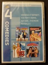 MGM Comedies DVD Weekend at Bernie's Party Animal Hot Dog:The Movie Meatballs 4